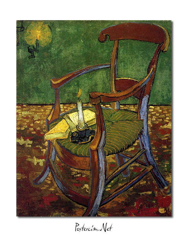 Vincent Van Gogh Gauguin's Arm Chair poster