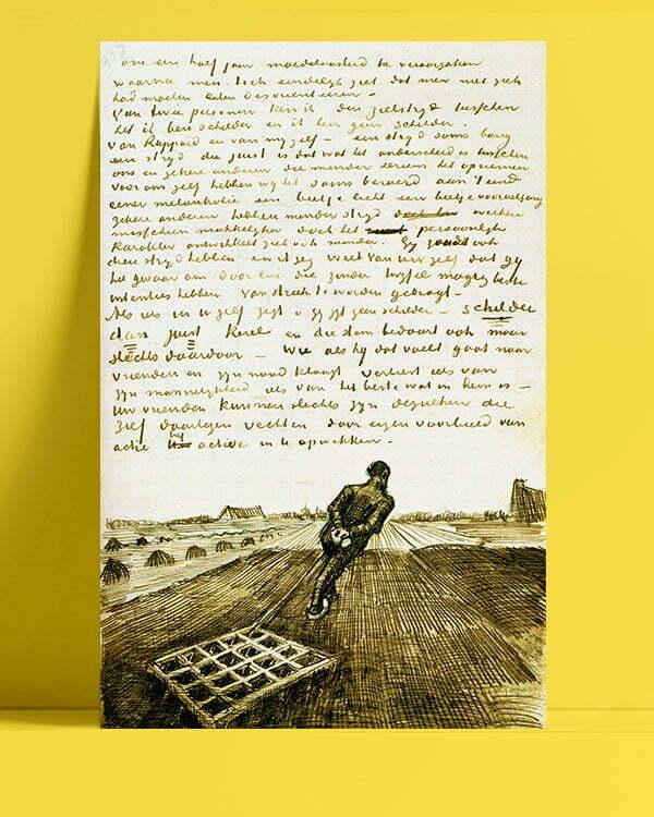 Vincent Van Gogh Harrower afis