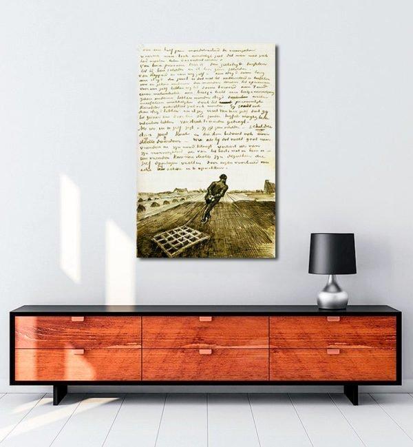 Vincent Van Gogh Harrower tablo