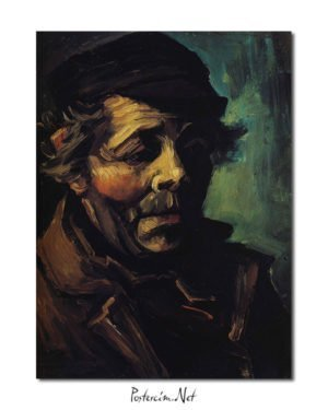 Vincent Van Gogh Head of a Peasan poster