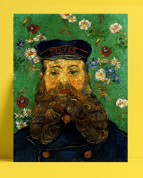 Vincent Van Gogh Head of the Roulin factor afis