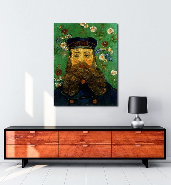 Vincent Van Gogh Head of the Roulin factor tablo