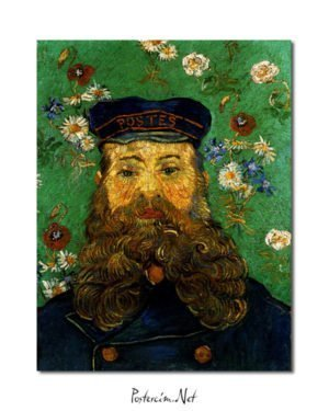 Vincent Van Gogh Head of the Roulin factor poster