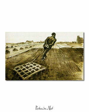 Vincent Van Gogh Herseur poster