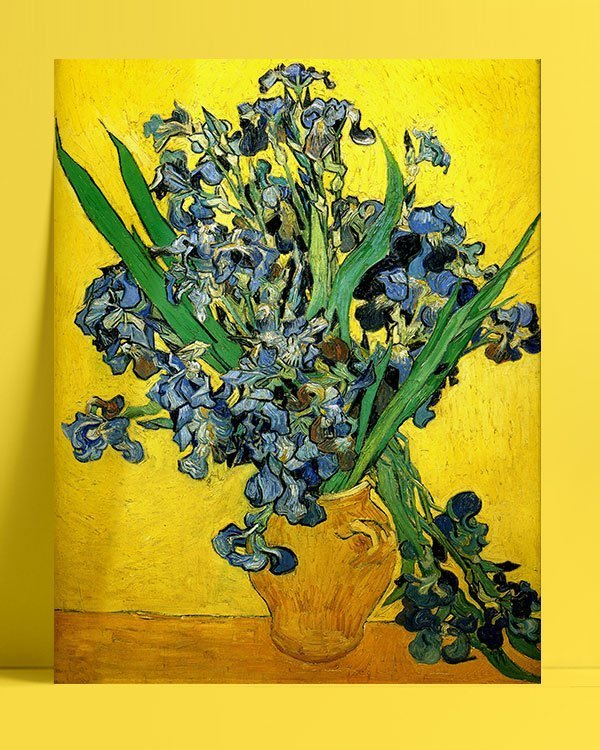 Vincent Van Gogh Irises afis