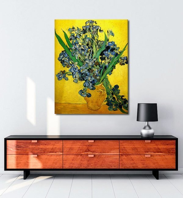 Vincent Van Gogh Irises tablo