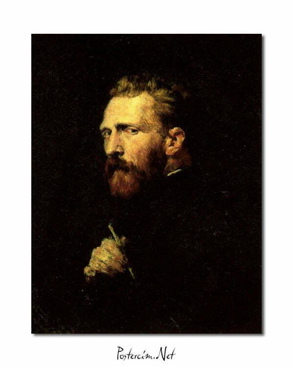 Vincent Van Gogh John Peter Russell Portrait poster