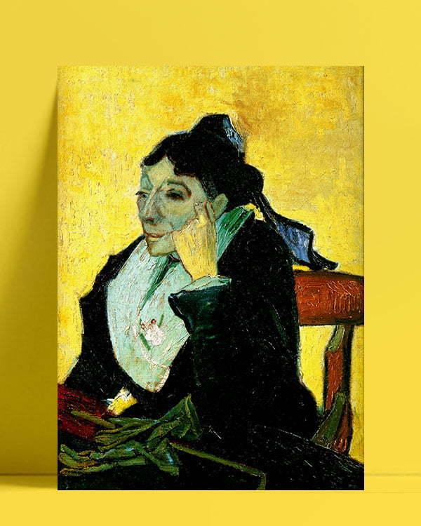 Vincent Van Gogh L'Arlésienne Arlésienne afis