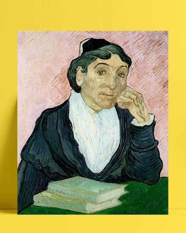 Vincent Van Gogh L'Arlesienne afis