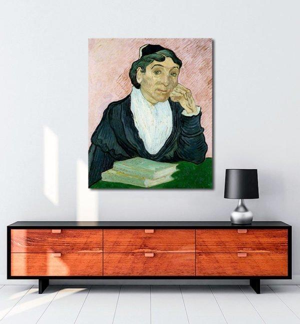 Vincent Van Gogh L'Arlesienne tablo