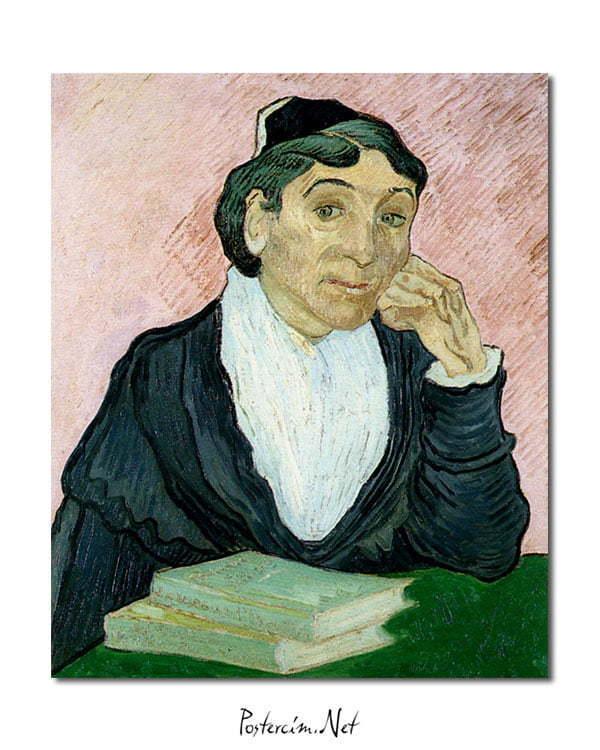 Vincent Van Gogh L'Arlesienne poster