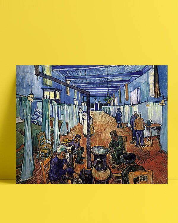 Vincent Van Gogh L'Hôpital d'Arles afis