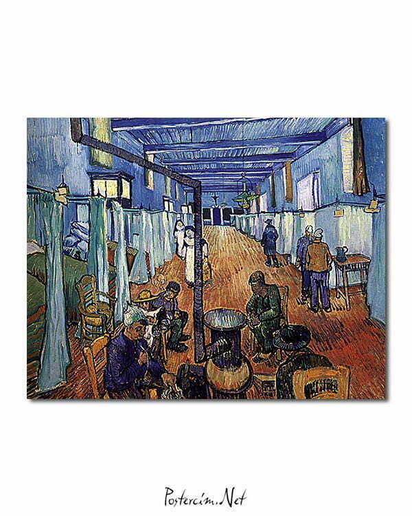Vincent Van Gogh L'Hôpital d'Arles poster