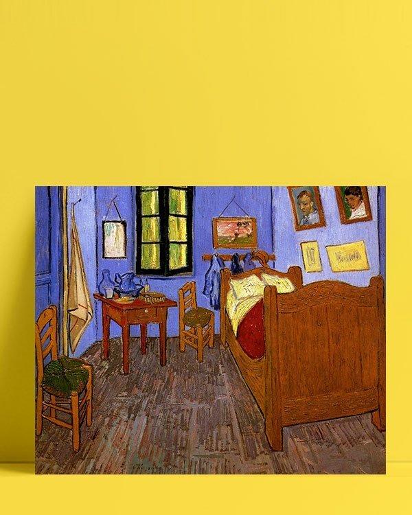 Vincent Van Gogh La Chambre de Vincent à Arles afis