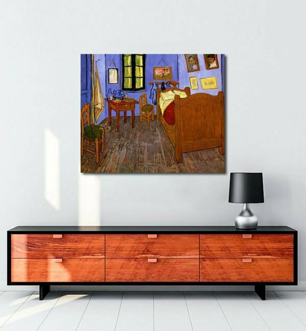 Vincent Van Gogh La Chambre de Vincent à Arles tablo