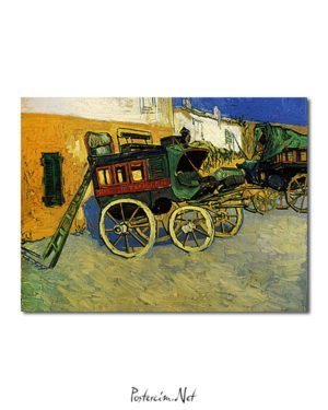 Vincent Van Gogh La Diligence de Tarascon poster