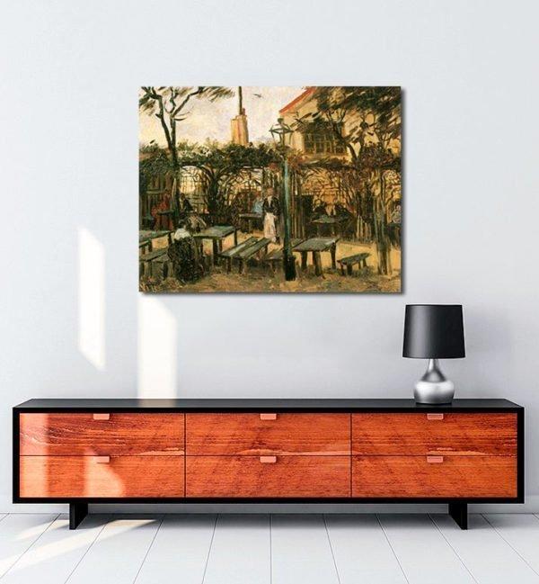 Vincent Van Gogh La Guinguette tablo