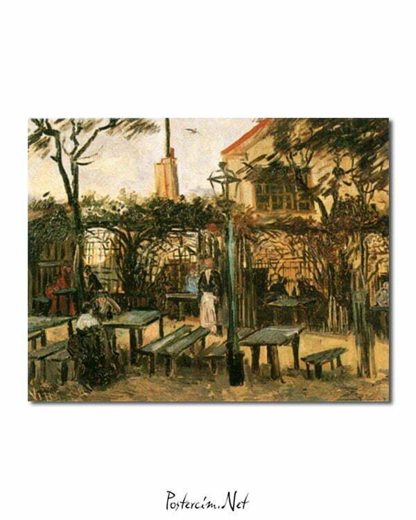 Vincent Van Gogh La Guinguette poster