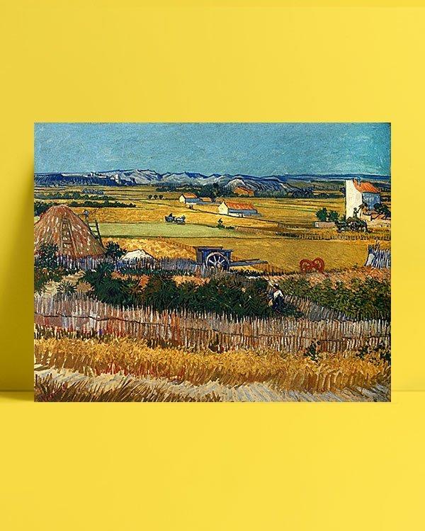 Vincent Van Gogh La Moisson afis