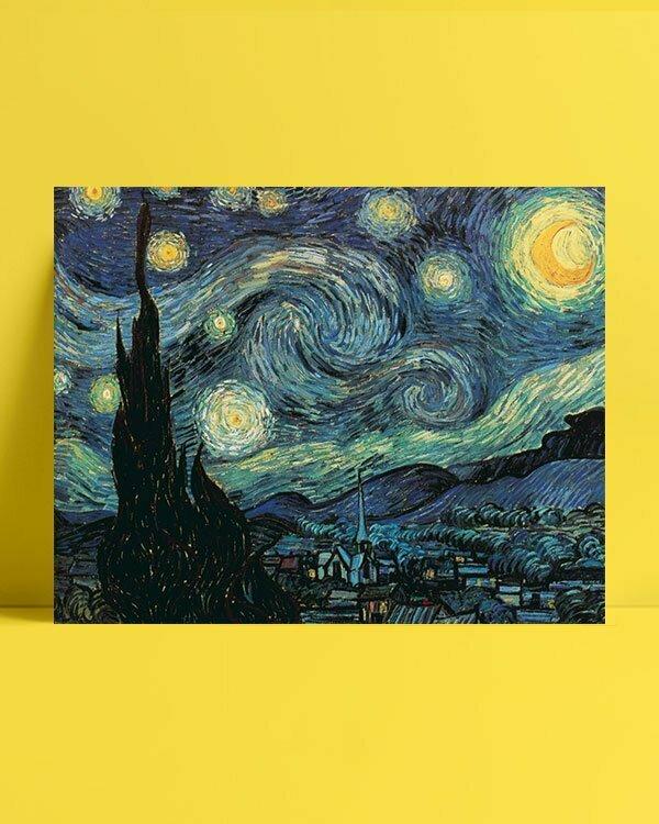 Vincent Van Gogh La Nuit étoilée afis