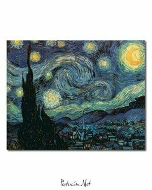 Vincent Van Gogh La Nuit étoilée poster