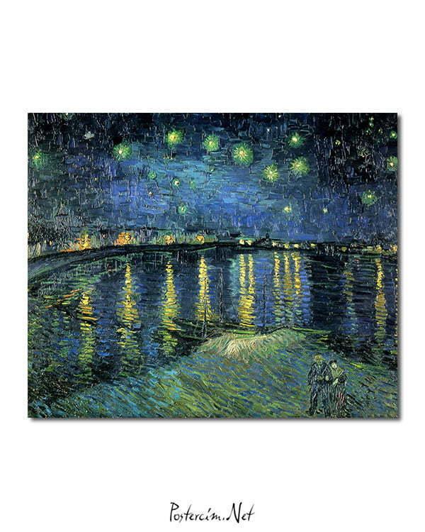 Vincent Van Gogh La Nuit étoilée The Starlight night poster
