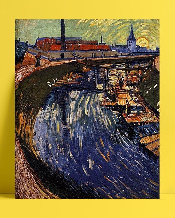 Vincent Van Gogh La Roubine du Roi afis