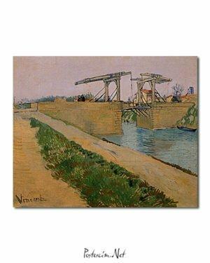 Vincent Van Gogh Langlois Bridge at Arles poster
