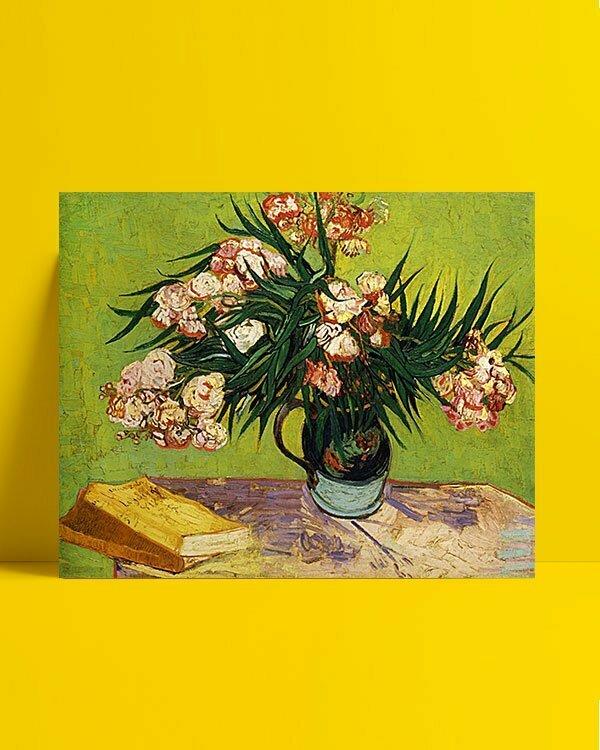 Vincent Van Gogh Lauriers-roses afis