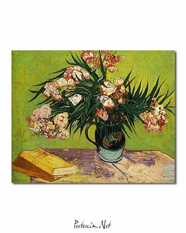 Vincent Van Gogh Lauriers-roses poster