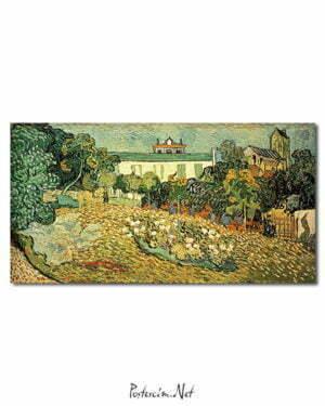 Vincent Van Gogh Le Jardin de Daubigny poster