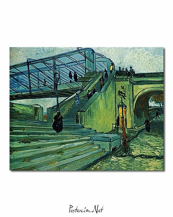 Vincent Van Gogh Le Pont métallique de Trinquetaille poster