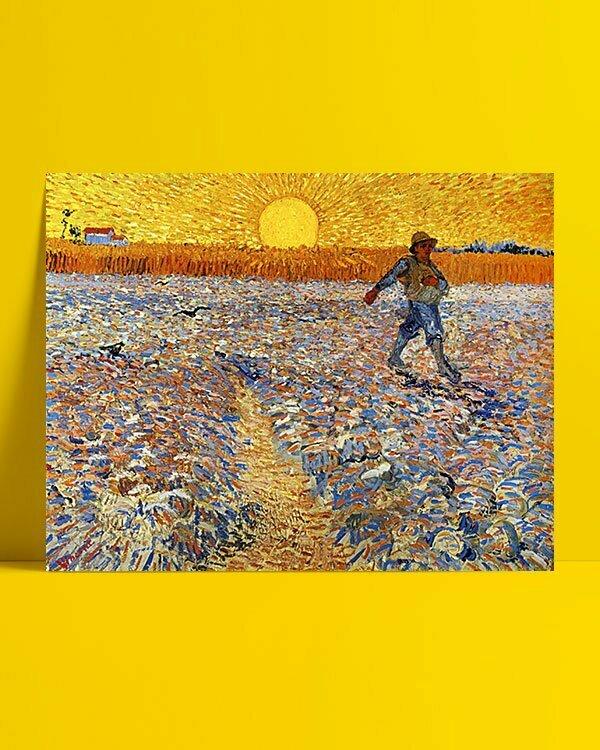 Vincent Van Gogh Le Semeur afis