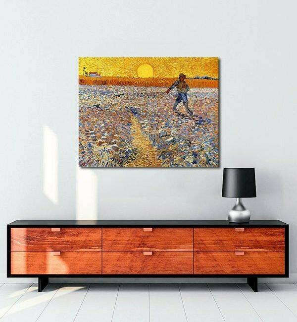 Vincent Van Gogh Le Semeur tablo