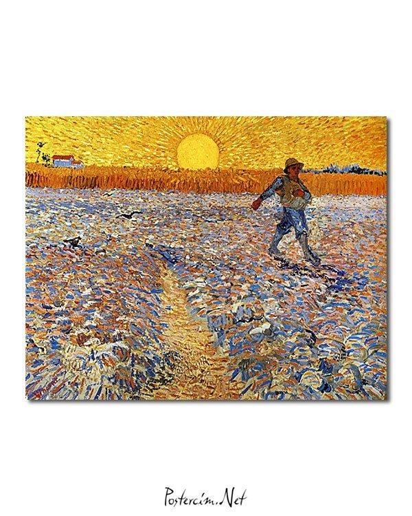 Vincent Van Gogh Le Semeur poster