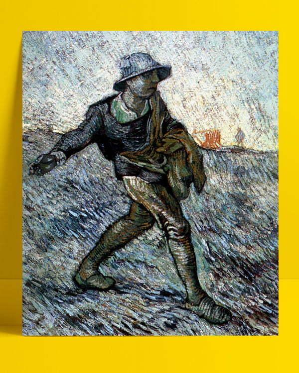 Vincent Van Gogh Le Semeur - The Sower afis