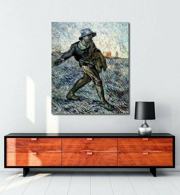 Vincent Van Gogh Le Semeur - The Sower tablo