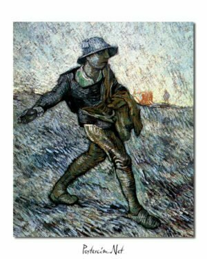 Vincent Van Gogh Le Semeur - The Sower poster
