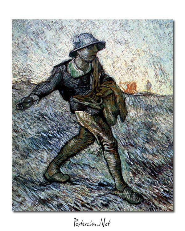 Vincent Van Gogh Le Semeur - The Sower poster