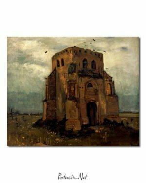 Vincent Van Gogh Le Vieux clocher de Nuenen poster