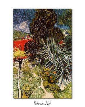 Vincent Van Gogh Le jardin du docteur Gachet à Auvers-sur-Oise poster