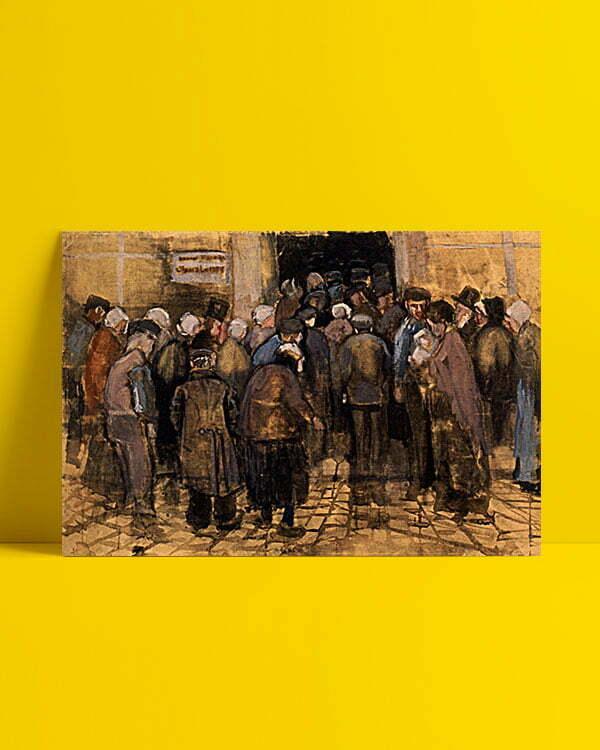 Vincent Van Gogh Le pauvre et l'argent afis