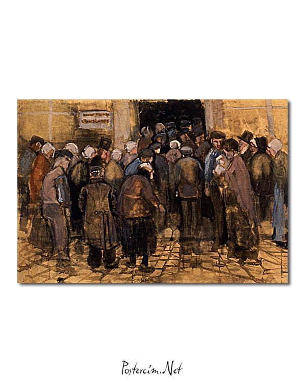 Vincent Van Gogh Le pauvre et l'argent poster