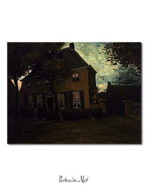 Vincent Van Gogh Le presbytère de Nuenen kanvas poster