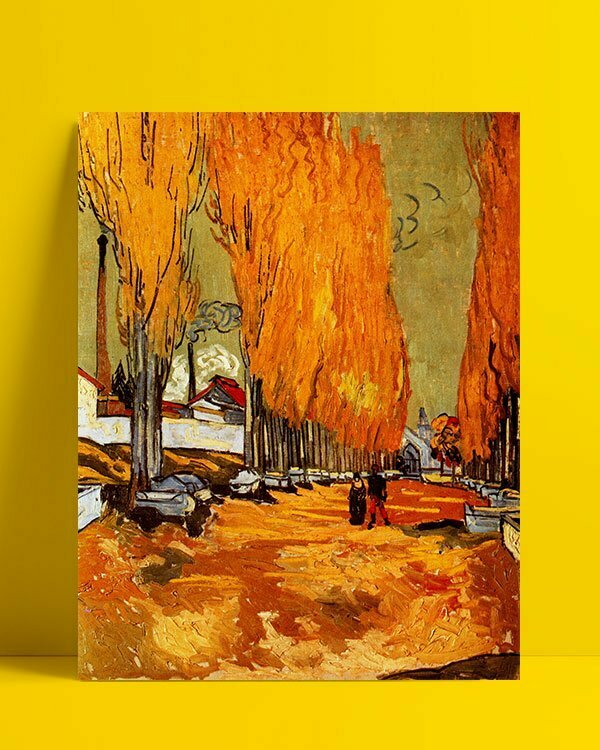 Vincent Van Gogh Les Alycamps Alycamps Afis