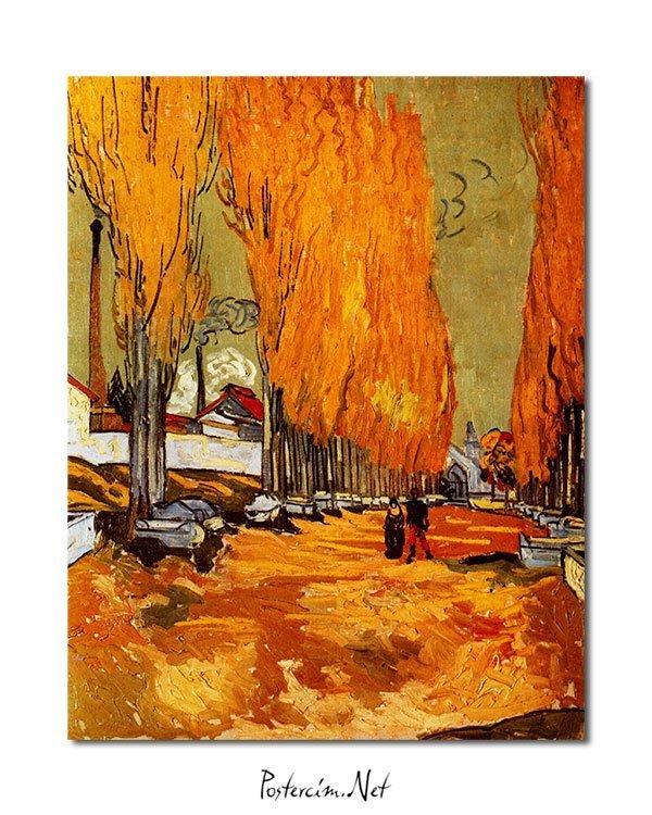 Vincent Van Gogh Les Alycamps Alycamps Poster