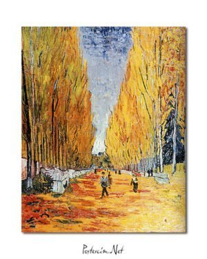 Vincent Van Gogh Les Alycamps Poster