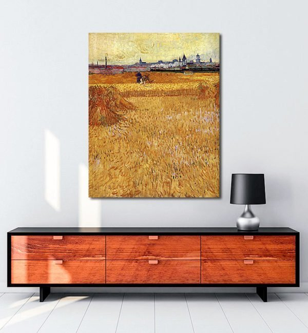 Vincent Van Gogh Les Moissonneurs Tablo