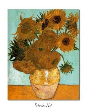 Vincent Van Gogh Les Tournesols Poster