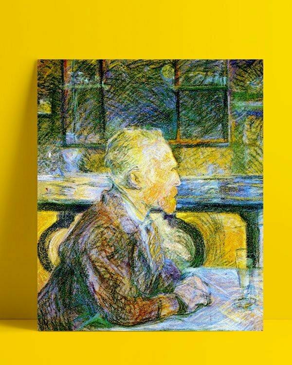 Vincent Van Gogh Lucien Pissaro Vincent en conversation Afis